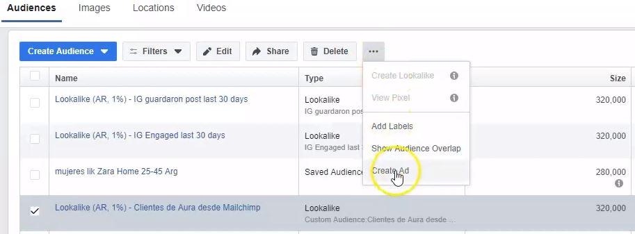 crear anuncio