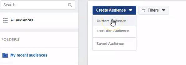 crear audiencia personalizada