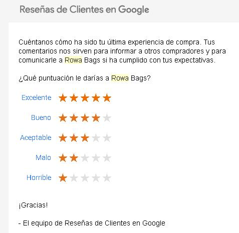 reseña de google my business